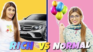 Birthday Party : Rich Vs. Normal | SAMREEN ALI