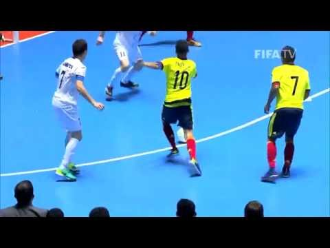 Match 13: Colombia v Uzbekistan - FIFA Futsal World Cup 2016