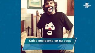 Descarta hijo del Payasito de la Tele que su padre tenga Covid-19 y explica que un accidente causó el malestar de Ricardo González; piden apoyo a los fans