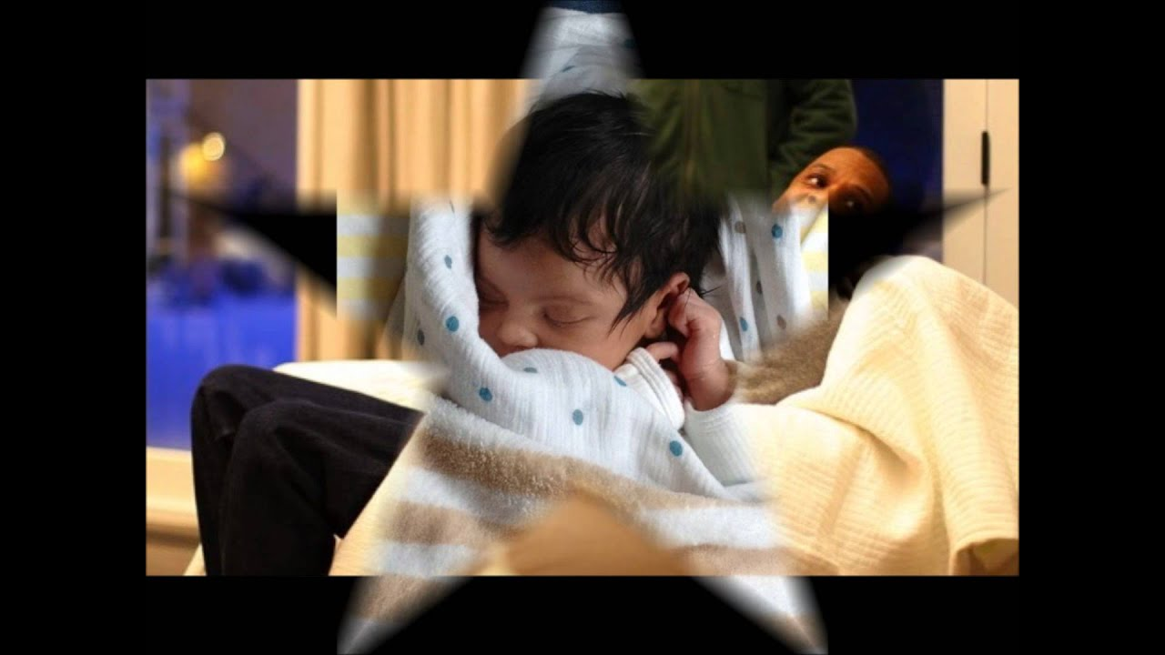 real first pictures baby blue ivy carter with beyonce and