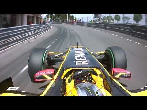 Monaco Grand Prix: Onboard With Robert Kubica In 2010