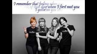 Secret - Together Korean Version (+english lyrics) Mp3