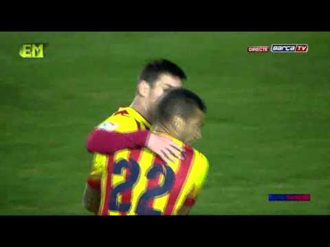 Levante vs FC Barcelona [1-4][22-01-2014][Copa del Rey][ida]