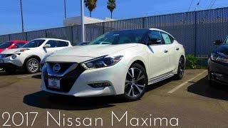 2017 Nissan Maxima Platinum 3.5 L V6 Review