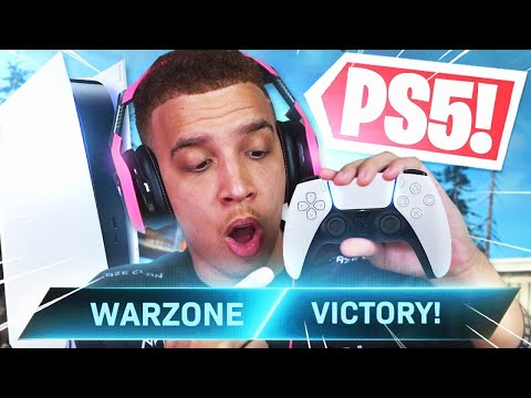 FAZE SWAGG PLAYS WARZONE ON THE PS5!