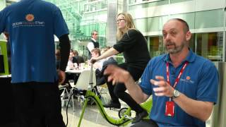McGraw Hill Financial Employees Meet Energy Bike in London