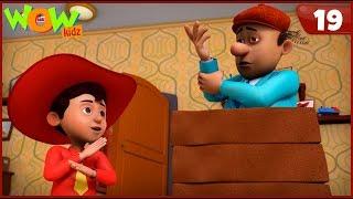 New Cartoon Show | Chacha Bhatija | Wow Kidz | Hindi Cartoons For Kids | Kung Fu Style