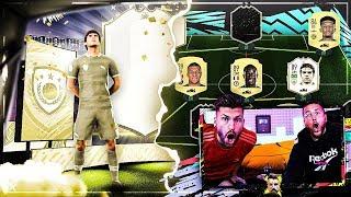 FIFA 20: Pack Opening zur ERSTEN ICON geht weiter + TEAM BUILDING !!