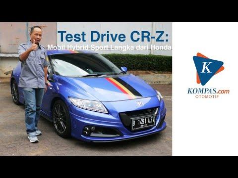 Test Drive CR-Z: Mobil Hybrid Sport Langka dari Honda