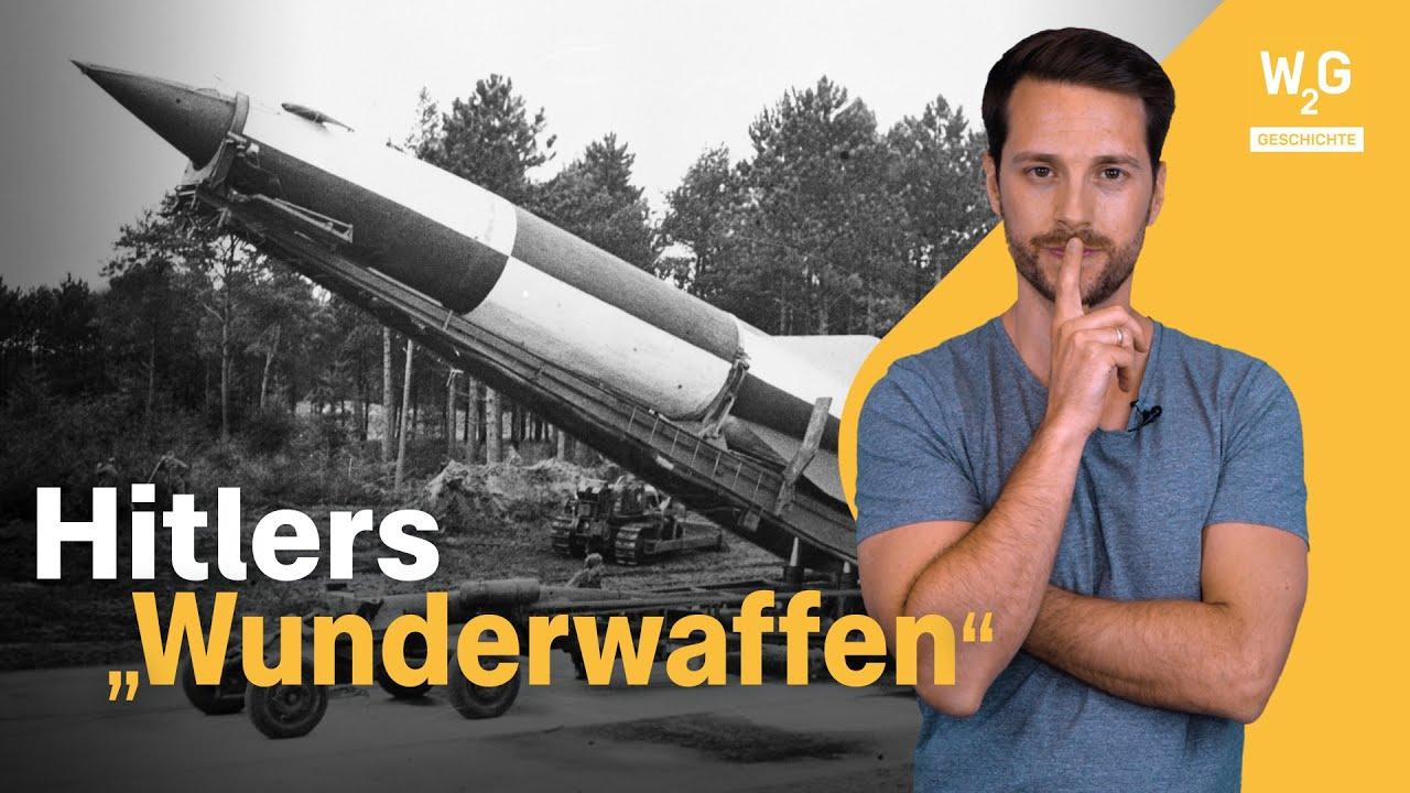 """Download V2 bis Superpanzer: 5 Fakten zu Hitlers """"Wunderwaffen"""""""