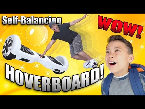HOVERBOARD Self-balancing Electric Scooter!