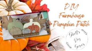 Diy Farmhouse Pumpkin Patch