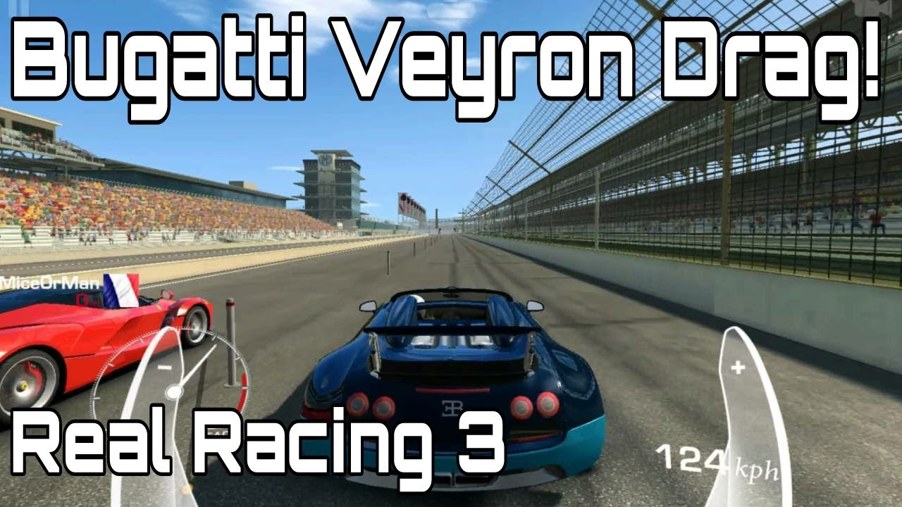 bugatti veyron drag real racing 3 android youtube. Black Bedroom Furniture Sets. Home Design Ideas