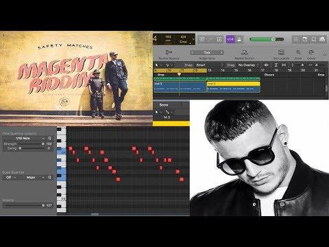 DJ Snake - Magenta Riddim Remake (Drop Melody Tutorial) How To Write Melody Like DJ Snake