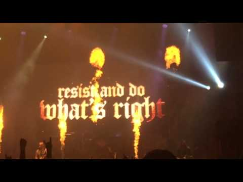 Sabaton - Resist And Bite (Bratislava 14.3.2017 - The Last Tou 2017)