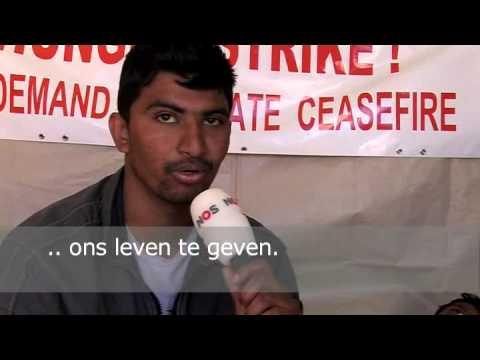Tamil activist in hongerstaking