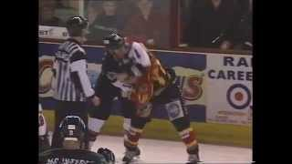 Daryl Lavoie vs Frank Evans ISL fight 4-2-01