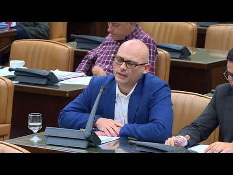 Txema Guijarro interroga a Ignacio González en la Comisión investigación por la financiación del PP