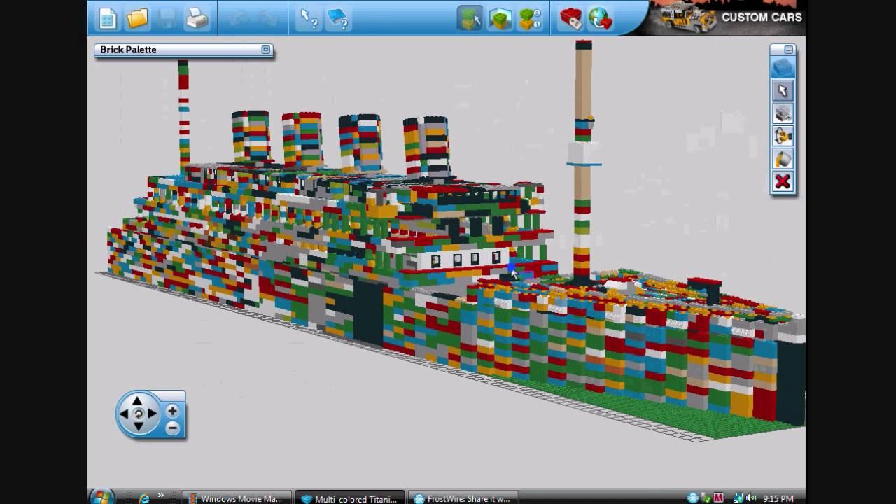 lego titanic in lego digital designer youtube. Black Bedroom Furniture Sets. Home Design Ideas