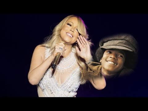 Mariah Carey's Tribute To Michael Jackson - I'll Be There & Rock With You - SSFT - Riga, Latvia