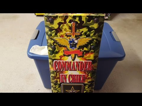 Fireworks Unboxing & Weigh-In - Commander In Chief (Firehawk)