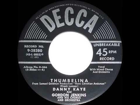 Download 1952 OSCAR-NOMINATED SONG: Thumbelina - Danny Kaye