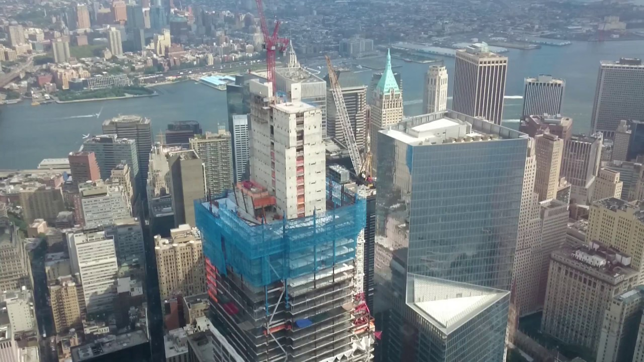 Freedom tower observation deck NYC - YouTube