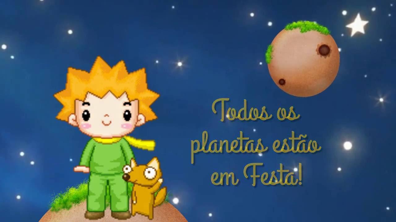 Convite Animado Pequeno Principe Joao Victor