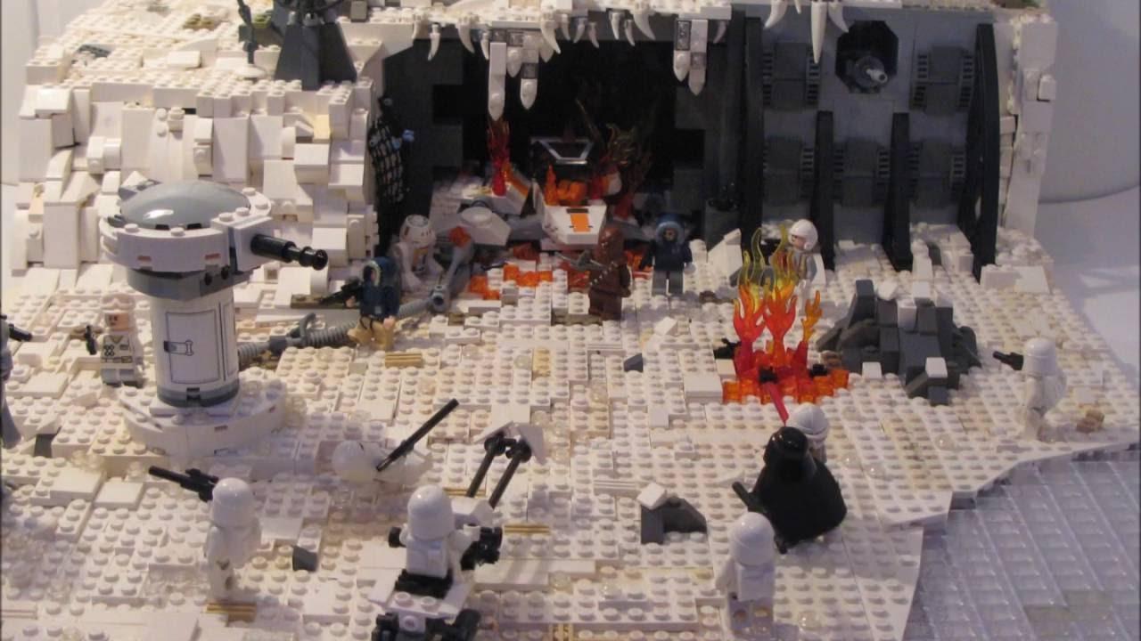 Lego Star Wars Rebel Defense on Hoth