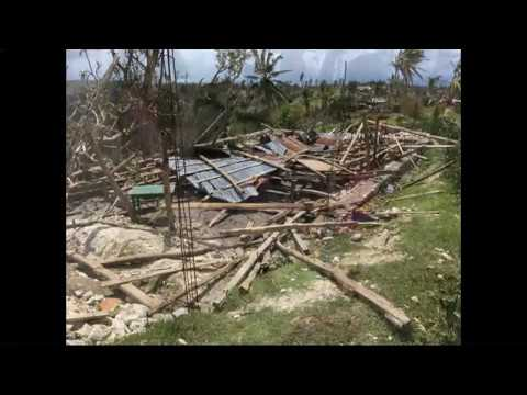 Once again it hit the island state of Haiti - Hurricane Matthew