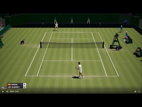 Rafael Nadal vs Sam Querrey - Wimbledon 2019 - AO Tennis PS4