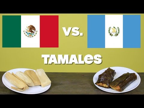 TASTE TEST Mexican Vs. Guatemalan TAMALES | mitú