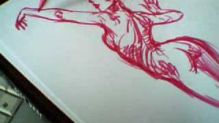 How to draw a girl in five minutes