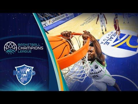 Dyshawn Pierre (Dinamo Sassari) | Highlight Plays | Basketball Champions League 2019-20