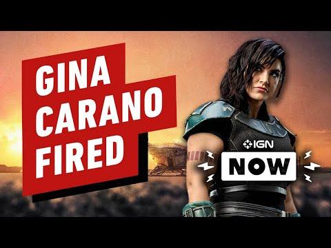 The Mandalorian Actress Gina Carano Fired - IGN Now