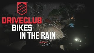 Driveclub Bikes: Stunning wet weather helmet cam action