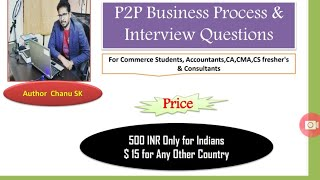 eBook Held for Sale-P2P Process & Interview Questions