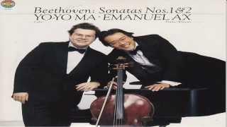 Beethoven: Complete Sonatas for Cello and Piano, Vol. 1 | Emanuel Ax, Yo-yo ma