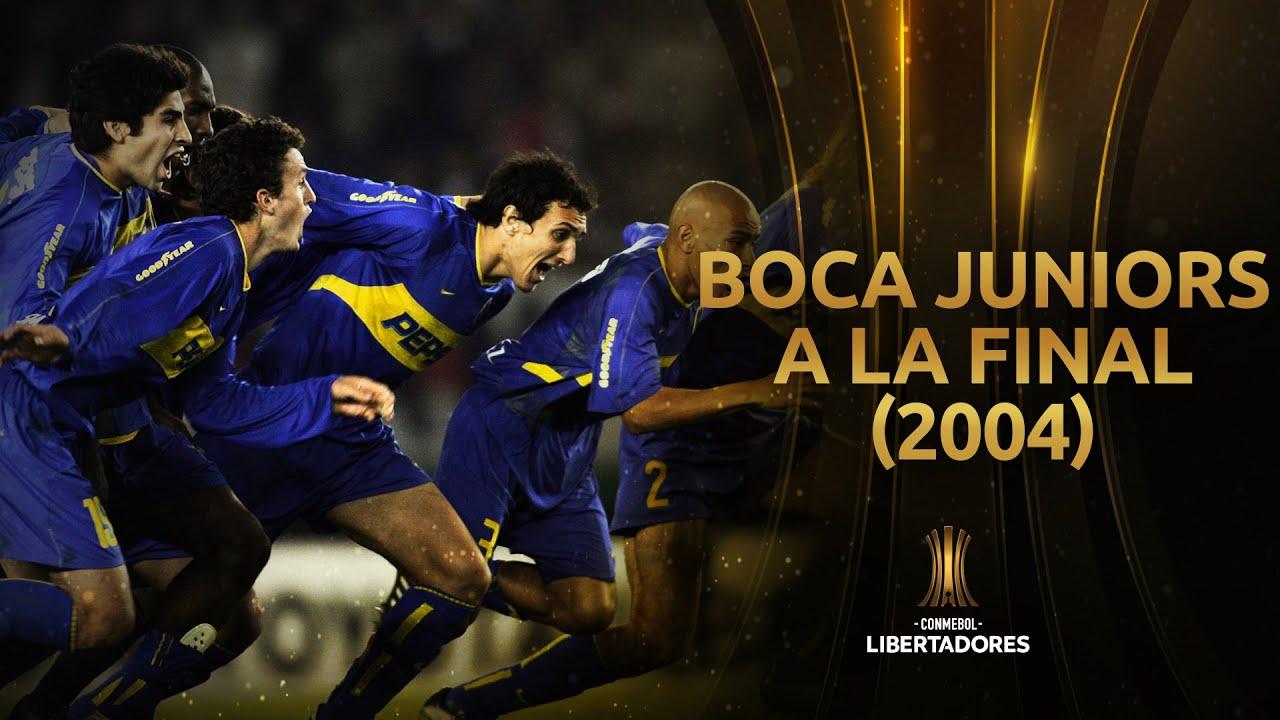 River Plate vs. Boca Juniors [2-1] (4-5) | Semifinal (Vuelta) | Libertadores 2004 | Partido completo
