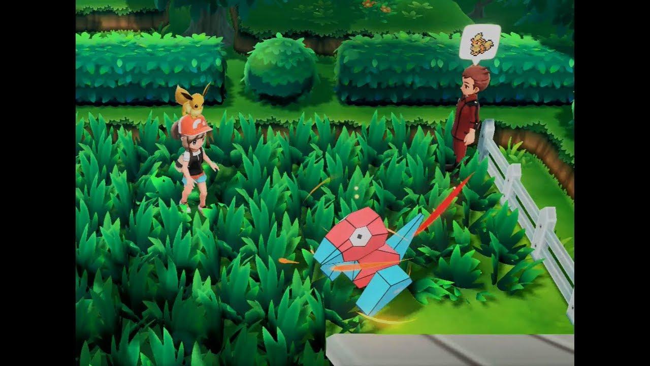 [Pokémon: Let's Go, Eevee!] All Pokémon on Route 7 (No Legendary Birds)