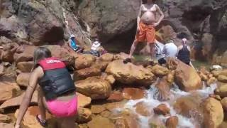 Lake Shasta Water Slide - Little Backbone Creek