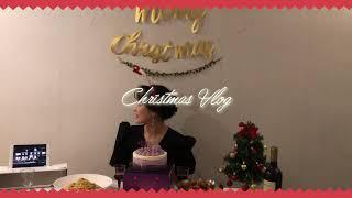 크리스마스 홈파티 함께 준비해요✨[다이소머리띠/일리커피…
