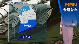 내일 전국 미세먼지 나쁨…오후부터 찬바람[MBN종합뉴스…