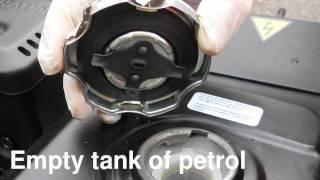 видео Генератор бензиновый SDMO PERFORM 3000