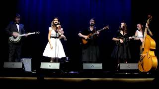 """Rollin' In My Sweet Baby's Arms""- The Burnett Sisters Band @The Reeves Theater"