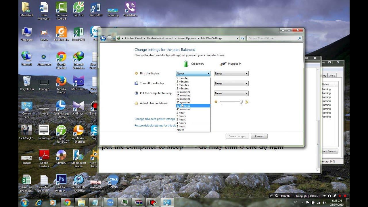 Thủ Thuật : Cách tắt chế độ Sleep ngủ đông win 7 8 8.1 XP tự động tắt