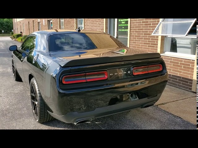 Paint Correction and Ceramic Coating Challenger Scat Pack | Auto Detailing | Northeast Ohio