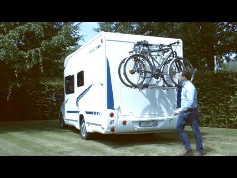 Fietsendrager E bike lift voor campers