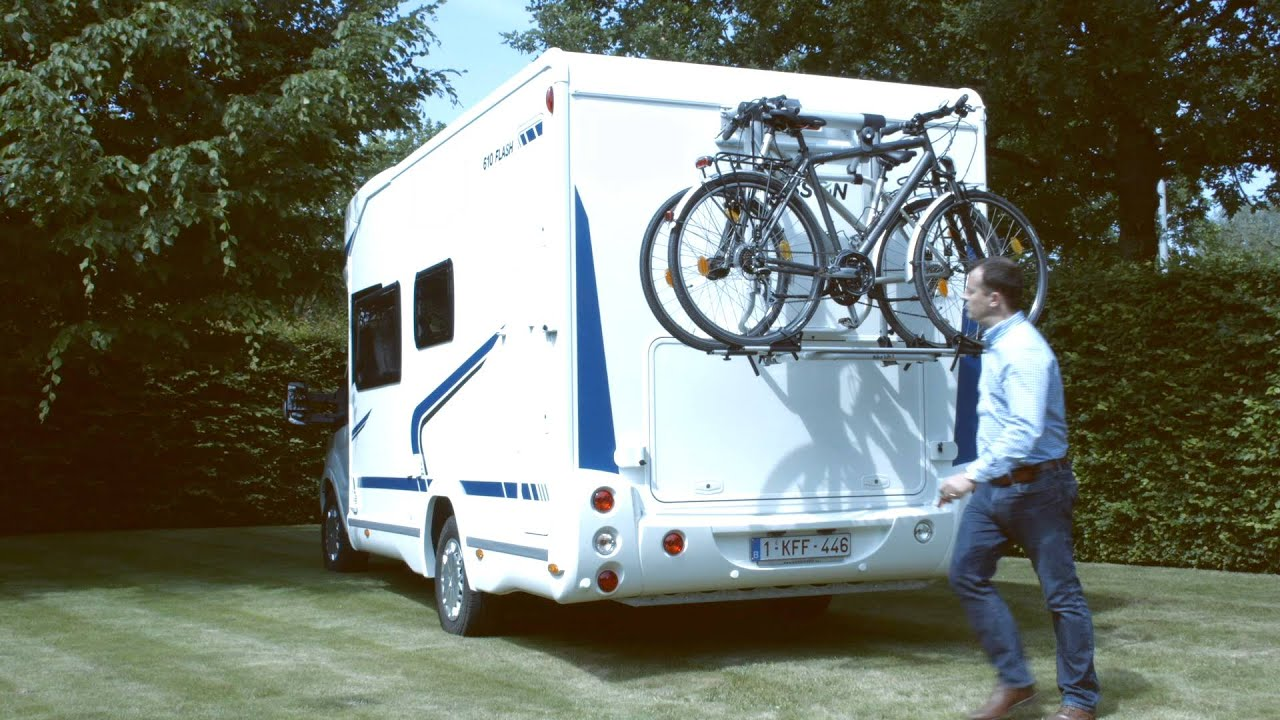 Fietsendrager E Bike Lift Voor Campers Youtube