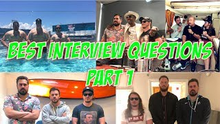 Compilation of some of the best Q & A's we've had the show. Blake G...